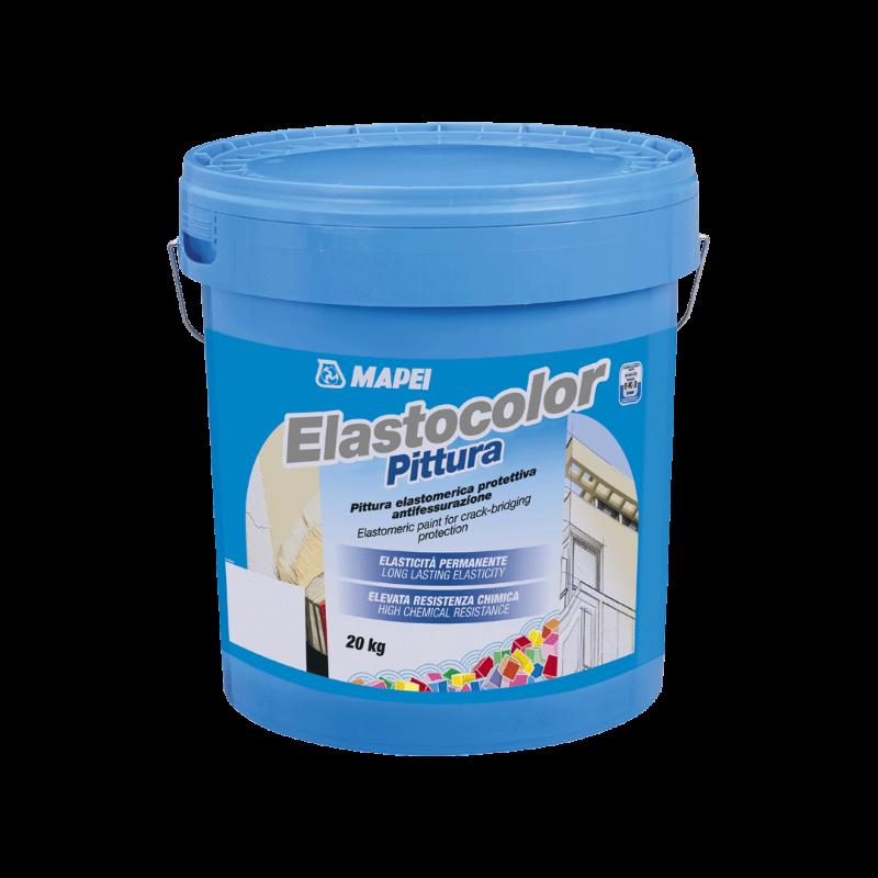 ELASTOCOLOR-PITTURA-Pittura-elastomerica-protettiva-antifessurazione,-per-esterni-ed-interni