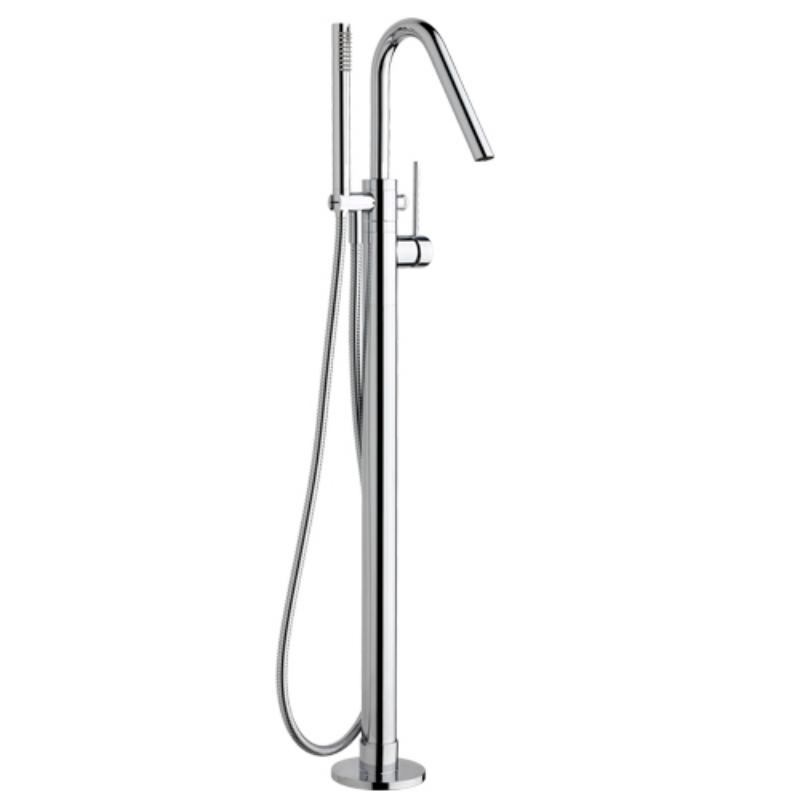 effepi-Thor-Colonna-vasca-a-pavimento-con-deviatore-automatico,-flessibile-e-doccia-Art.-9153