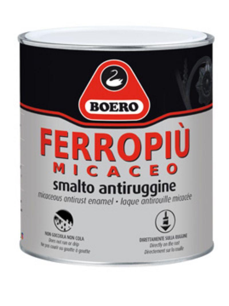 BOERO-Ferropiù-Micaceo,--Smalto-anticorrosivo-per-esterni-ed-interni