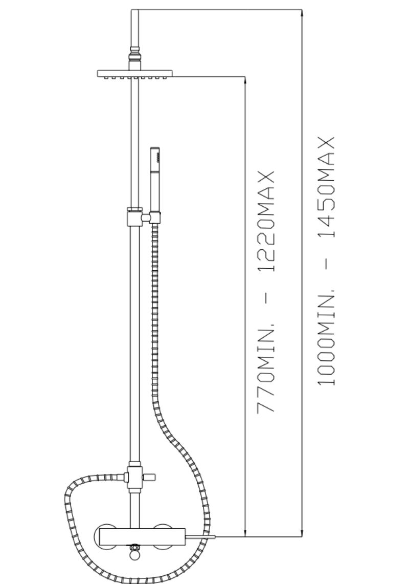effepi-Thor-Monocomando-doccia-esterno-con-colonna,-deviatore,-soffione,-flessibile-e-doccia-Art.-9147