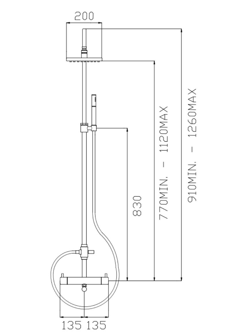 effepi-Thor-Miscelatore-termostatico-doccia-esterno-con-colonna,-soffione,-deviatore,-flessibile-e-doccia-Art.-18247